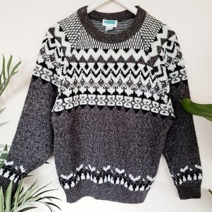 Vintage Oversized Slouchy Unisex Grandpa Sweater